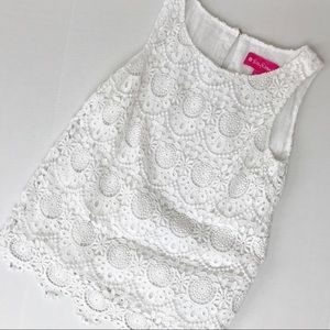 Lilly Pulitzer For Target Lace Tank XS